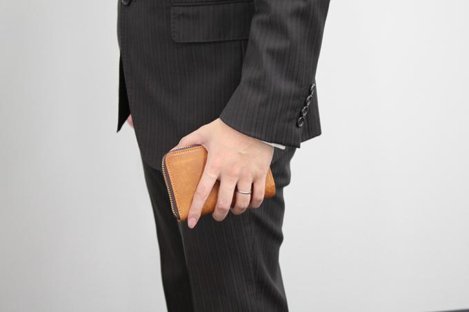 長財布から2つ折りの財布に変えてみた