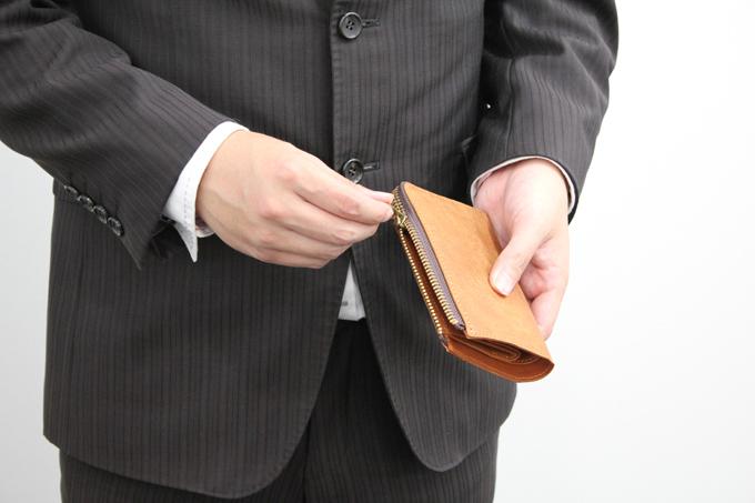 スロウ二つ折り財布の気に入っているポイント